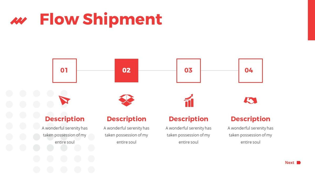 iWarehouse - Logistics Powerpoint Template, Slide 22, 06428, Data Driven Diagrams and Charts — PoweredTemplate.com