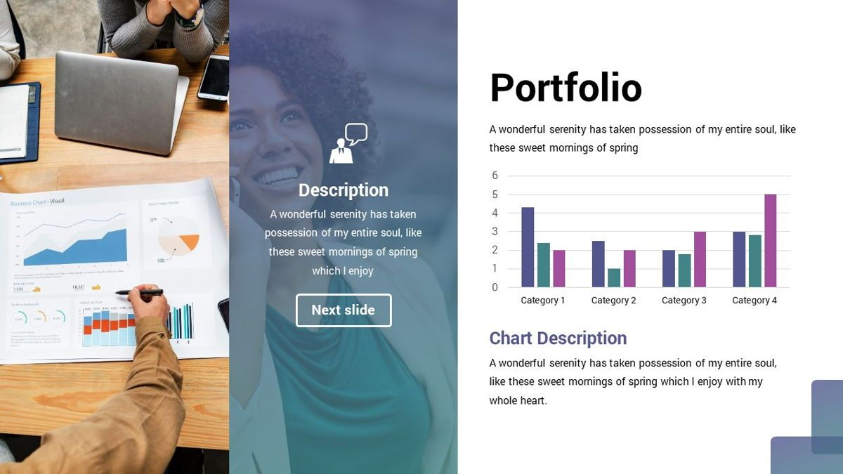 MultiFinance - Financial Powerpoint Template, Slide 17, 06429, Data Driven Diagrams and Charts — PoweredTemplate.com