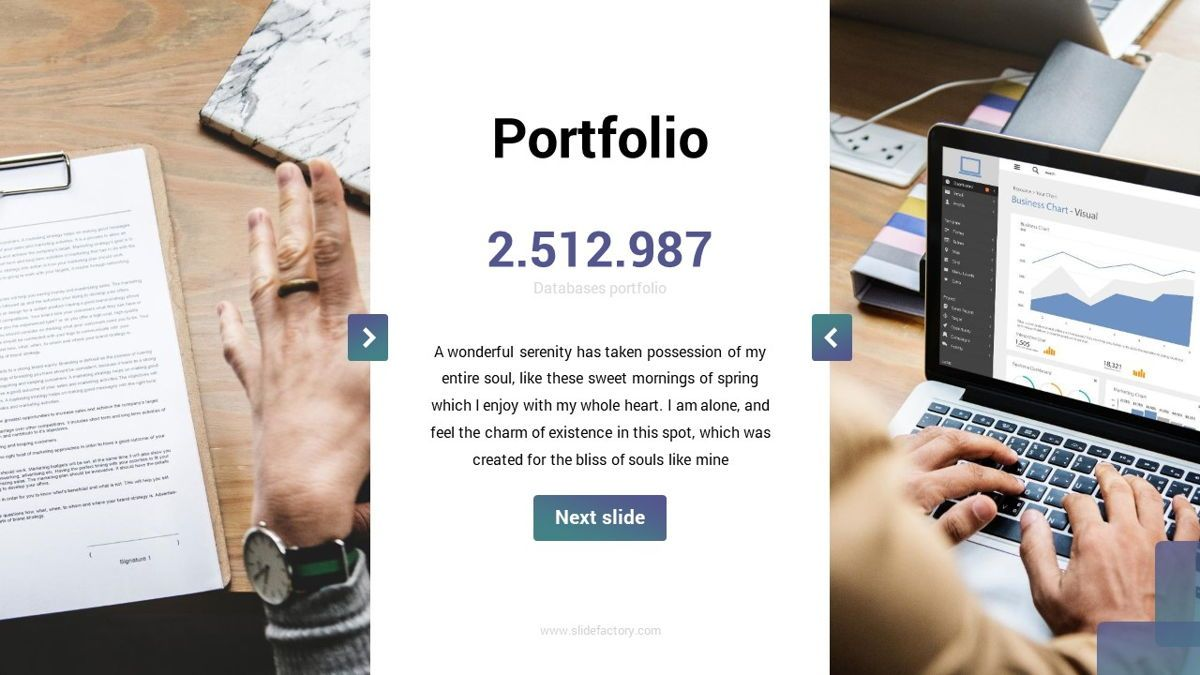 MultiFinance - Financial Powerpoint Template, Slide 18, 06429, Data Driven Diagrams and Charts — PoweredTemplate.com