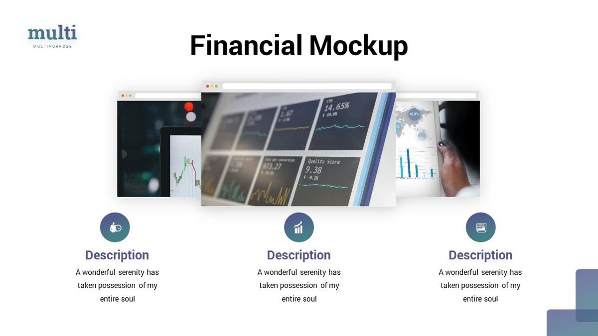 MultiFinance - Financial Powerpoint Template, Slide 19, 06429, Data Driven Diagrams and Charts — PoweredTemplate.com