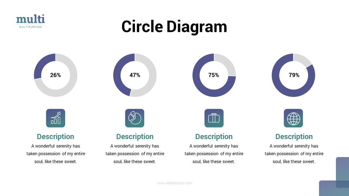 MultiFinance - Financial Powerpoint Template, Slide 22, 06429, Data Driven Diagrams and Charts — PoweredTemplate.com