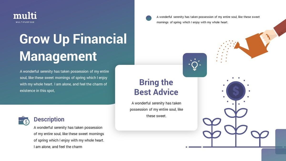 MultiFinance - Financial Powerpoint Template, Slide 25, 06429, Data Driven Diagrams and Charts — PoweredTemplate.com
