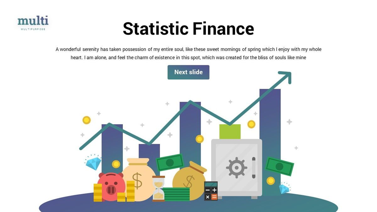 MultiFinance - Financial Powerpoint Template, Slide 26, 06429, Data Driven Diagrams and Charts — PoweredTemplate.com