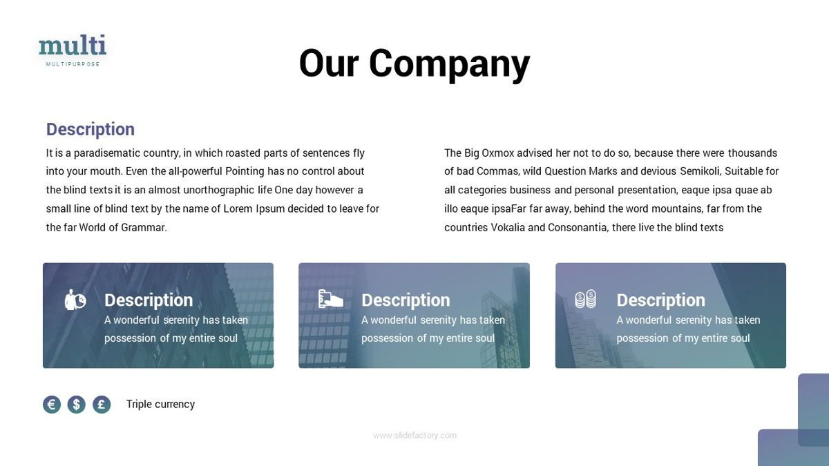 MultiFinance - Financial Powerpoint Template, Slide 7, 06429, Data Driven Diagrams and Charts — PoweredTemplate.com