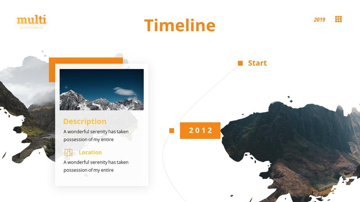 MultiAdventure - Powerpoint Template, Slide 10, 06430, Data Driven Diagrams and Charts — PoweredTemplate.com