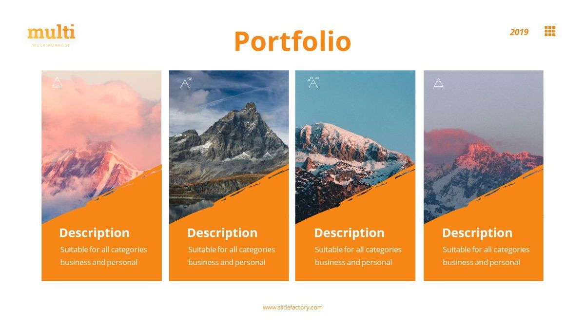 MultiAdventure - Powerpoint Template, Slide 16, 06430, Data Driven Diagrams and Charts — PoweredTemplate.com