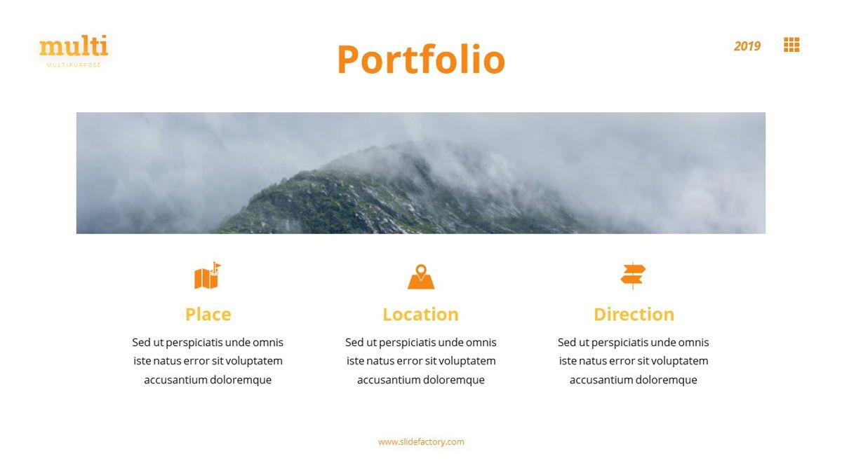 MultiAdventure - Powerpoint Template, Slide 18, 06430, Data Driven Diagrams and Charts — PoweredTemplate.com