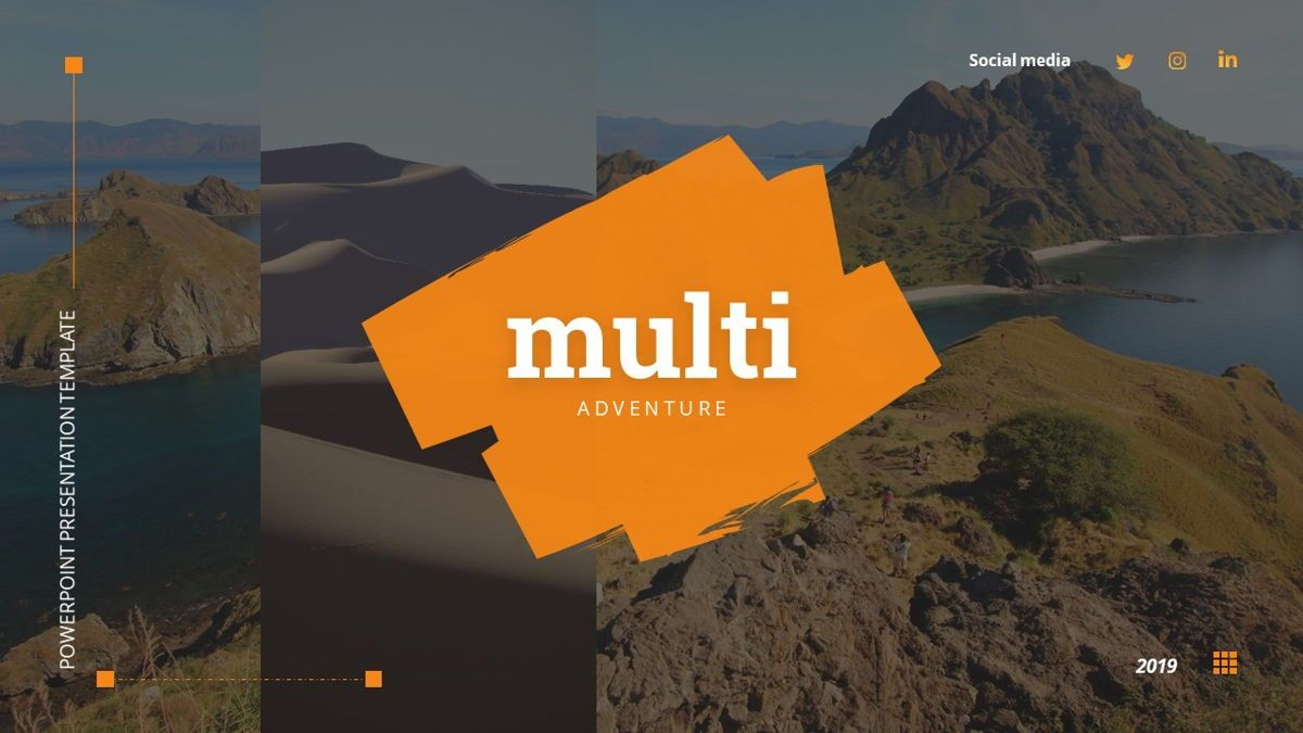 MultiAdventure - Powerpoint Template, Slide 2, 06430, Data Driven Diagrams and Charts — PoweredTemplate.com