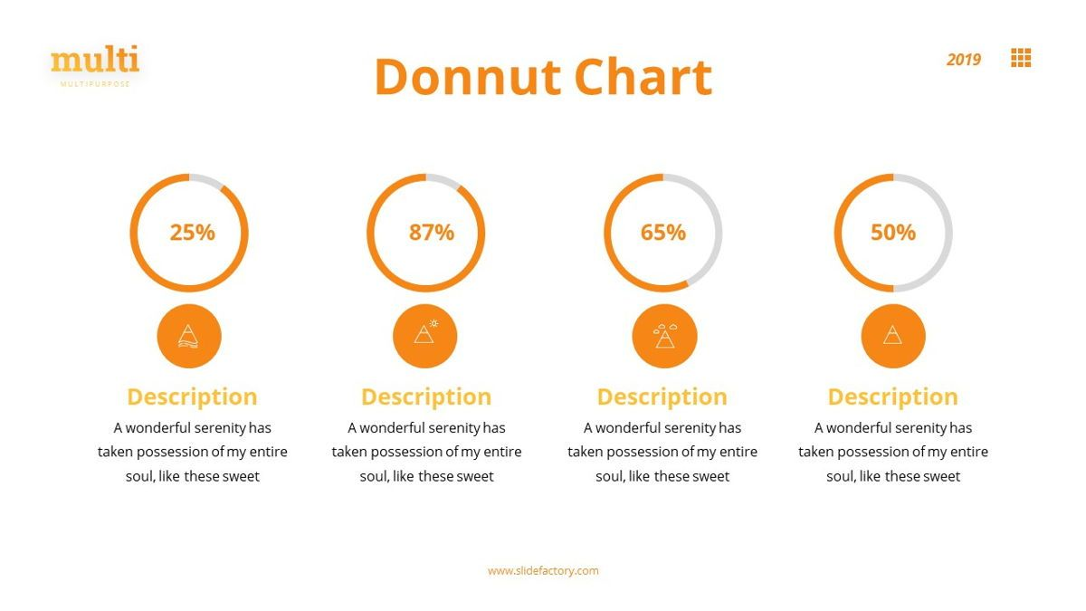 MultiAdventure - Powerpoint Template, Slide 23, 06430, Data Driven Diagrams and Charts — PoweredTemplate.com