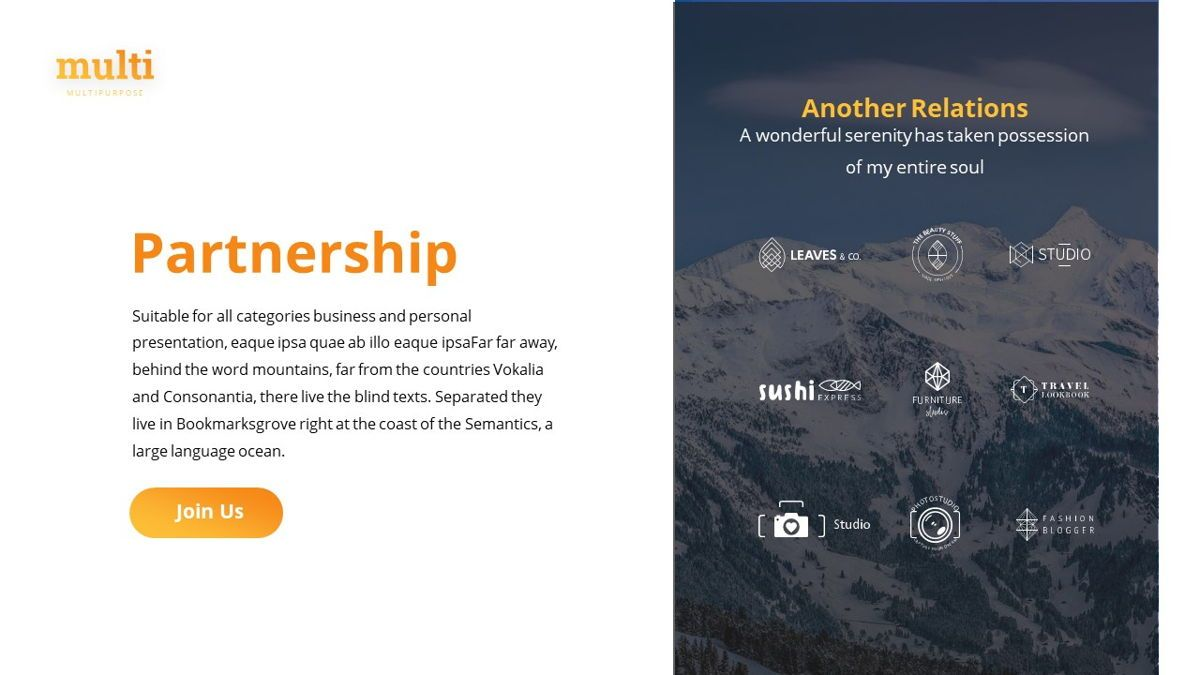MultiAdventure - Powerpoint Template, Slide 28, 06430, Data Driven Diagrams and Charts — PoweredTemplate.com