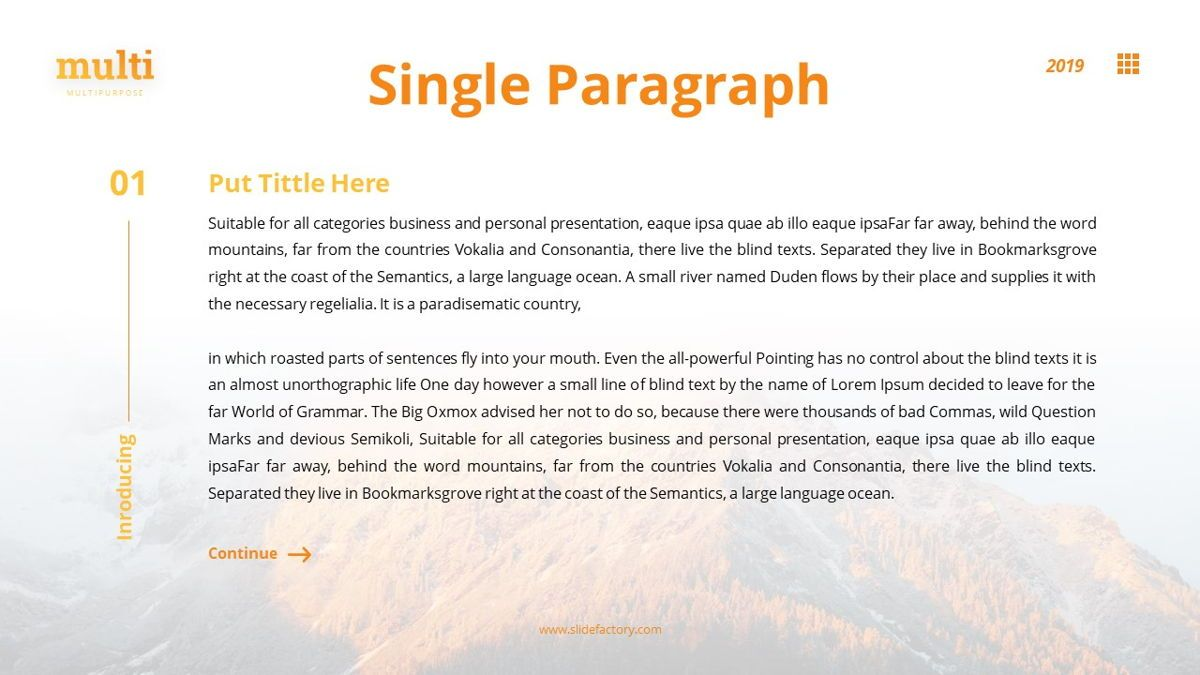 MultiAdventure - Powerpoint Template, Slide 6, 06430, Data Driven Diagrams and Charts — PoweredTemplate.com