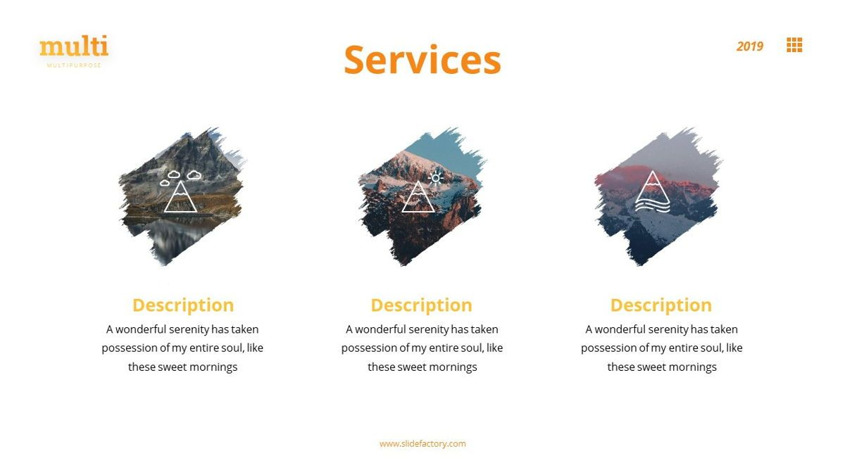 MultiAdventure - Powerpoint Template, Slide 8, 06430, Data Driven Diagrams and Charts — PoweredTemplate.com