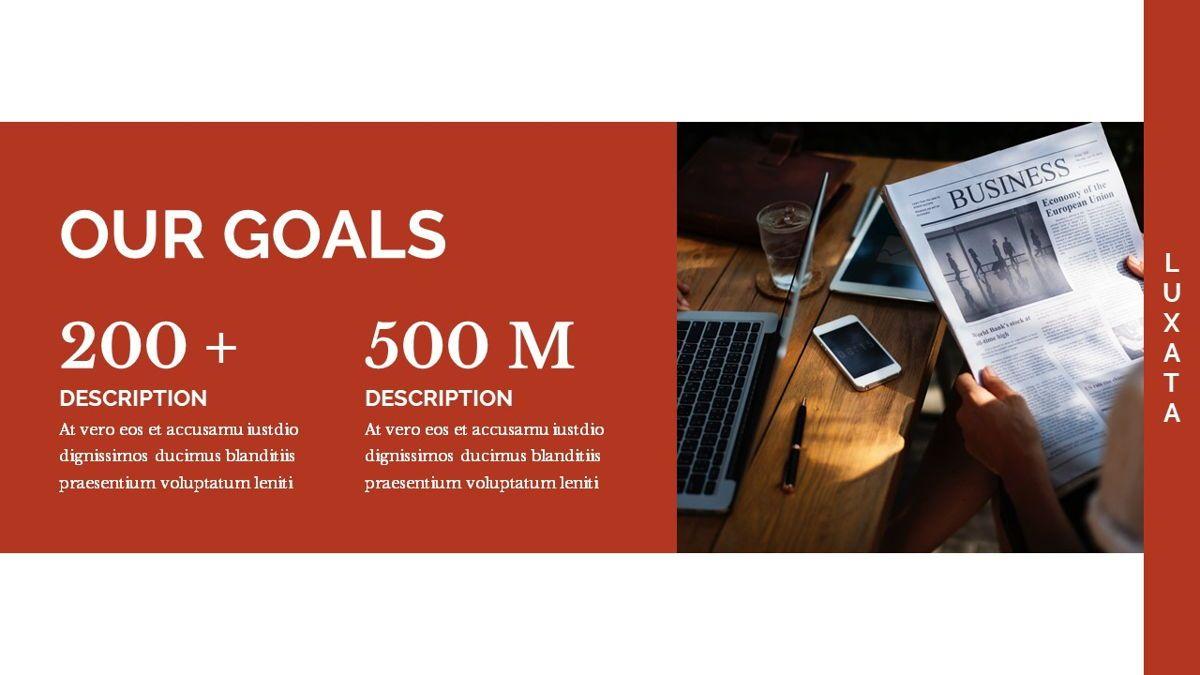 Luxata - Biz Powerpoint Presentation Template, Slide 10, 06432, Business Models — PoweredTemplate.com