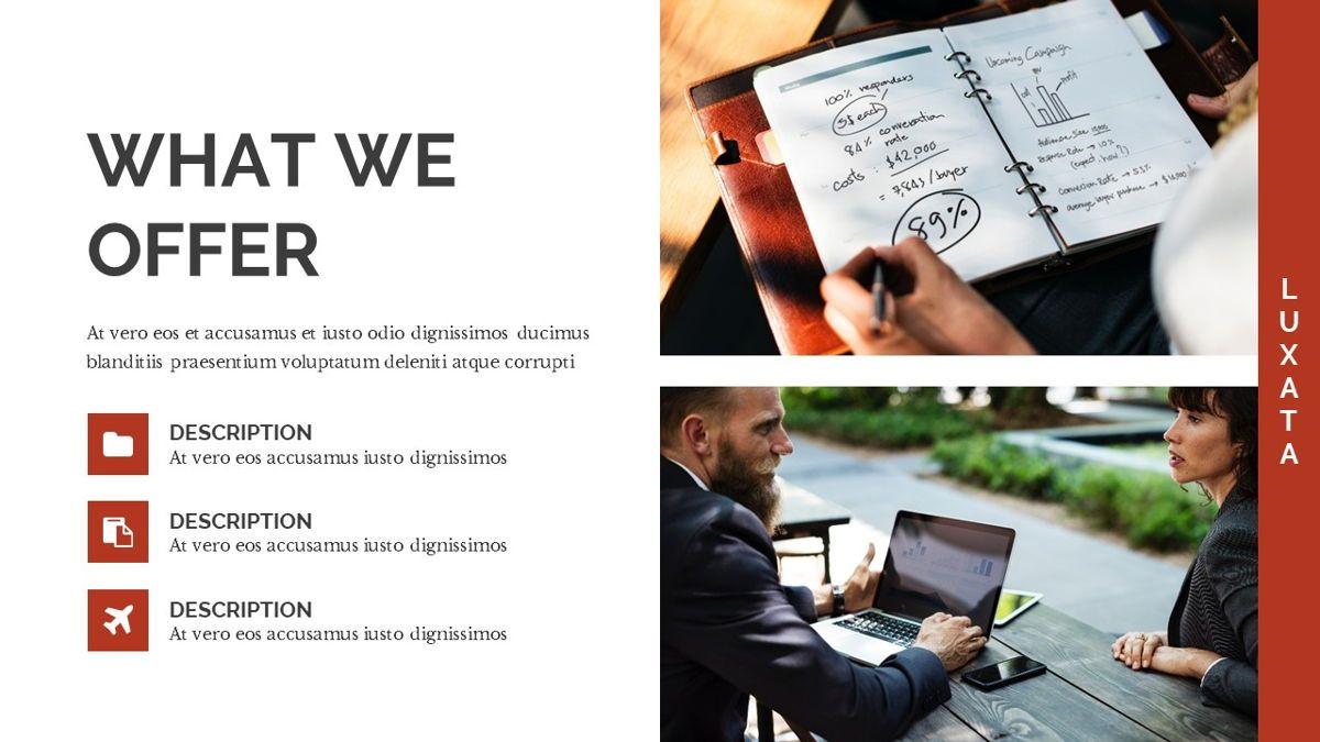 Luxata - Biz Powerpoint Presentation Template, Slide 11, 06432, Business Models — PoweredTemplate.com