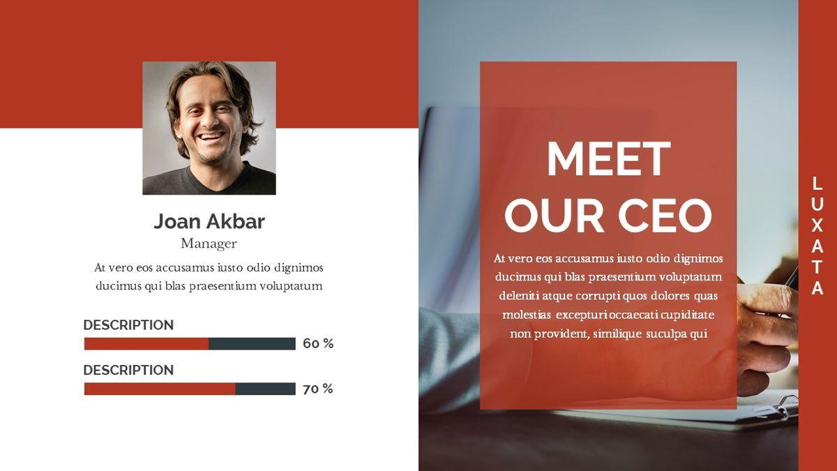 Luxata - Biz Powerpoint Presentation Template, Slide 14, 06432, Business Models — PoweredTemplate.com