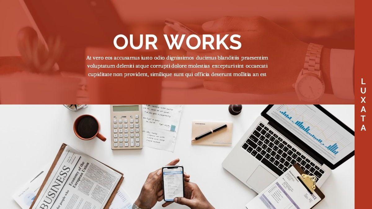 Luxata - Biz Powerpoint Presentation Template, Slide 18, 06432, Business Models — PoweredTemplate.com