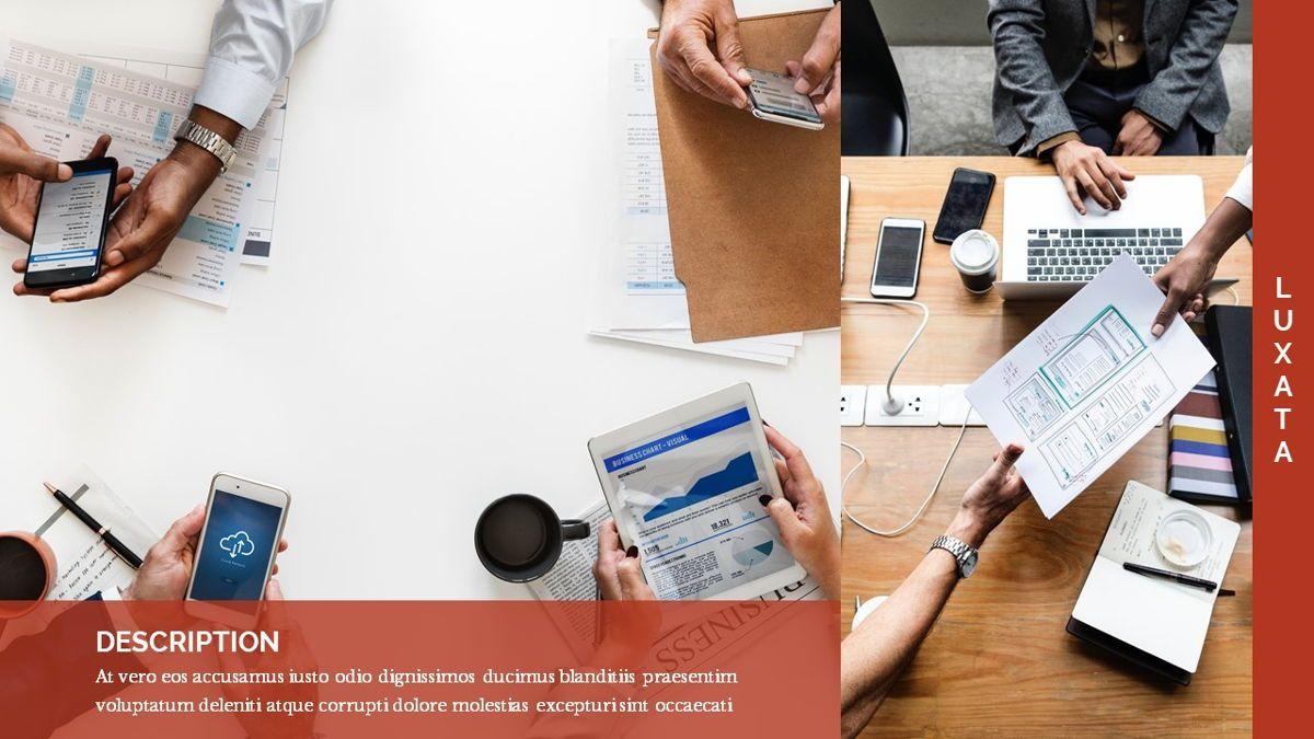 Luxata - Biz Powerpoint Presentation Template, Slide 19, 06432, Business Models — PoweredTemplate.com