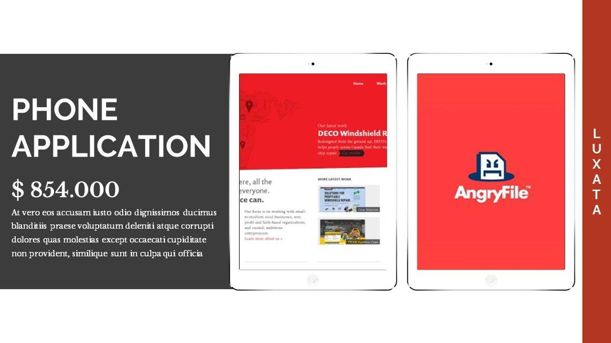 Luxata - Biz Powerpoint Presentation Template, Slide 28, 06432, Business Models — PoweredTemplate.com
