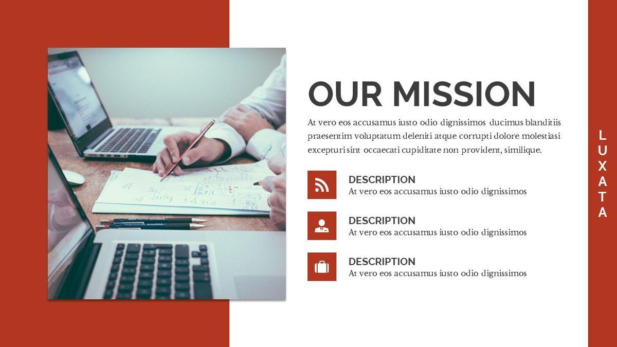 Luxata - Biz Powerpoint Presentation Template, Slide 5, 06432, Business Models — PoweredTemplate.com