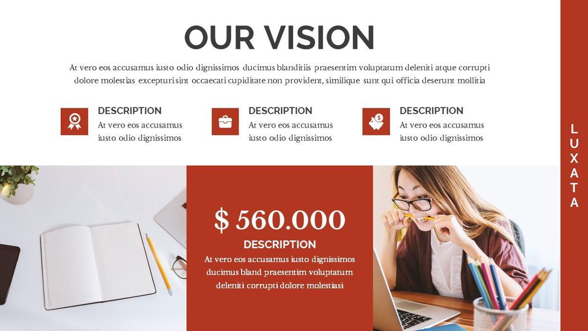 Luxata - Biz Powerpoint Presentation Template, Slide 6, 06432, Business Models — PoweredTemplate.com