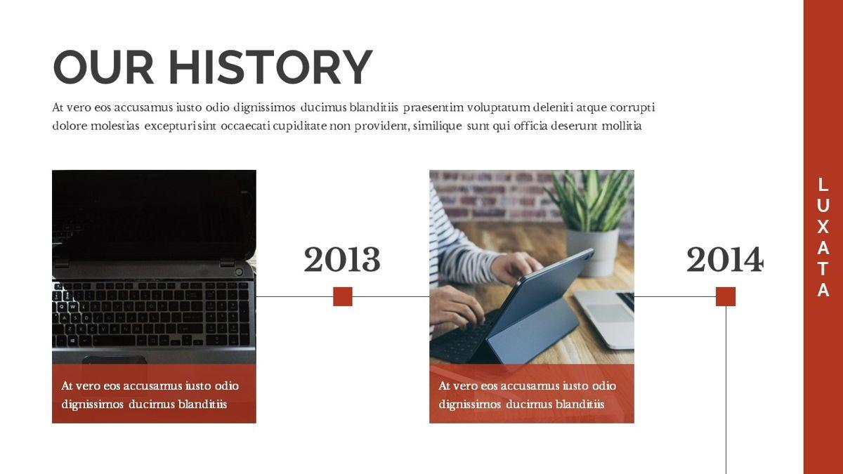 Luxata - Biz Powerpoint Presentation Template, Slide 7, 06432, Business Models — PoweredTemplate.com