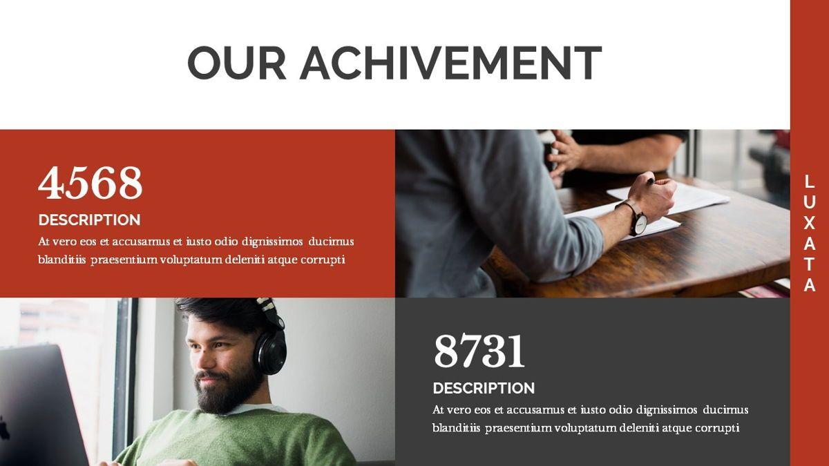 Luxata - Biz Powerpoint Presentation Template, Slide 9, 06432, Business Models — PoweredTemplate.com