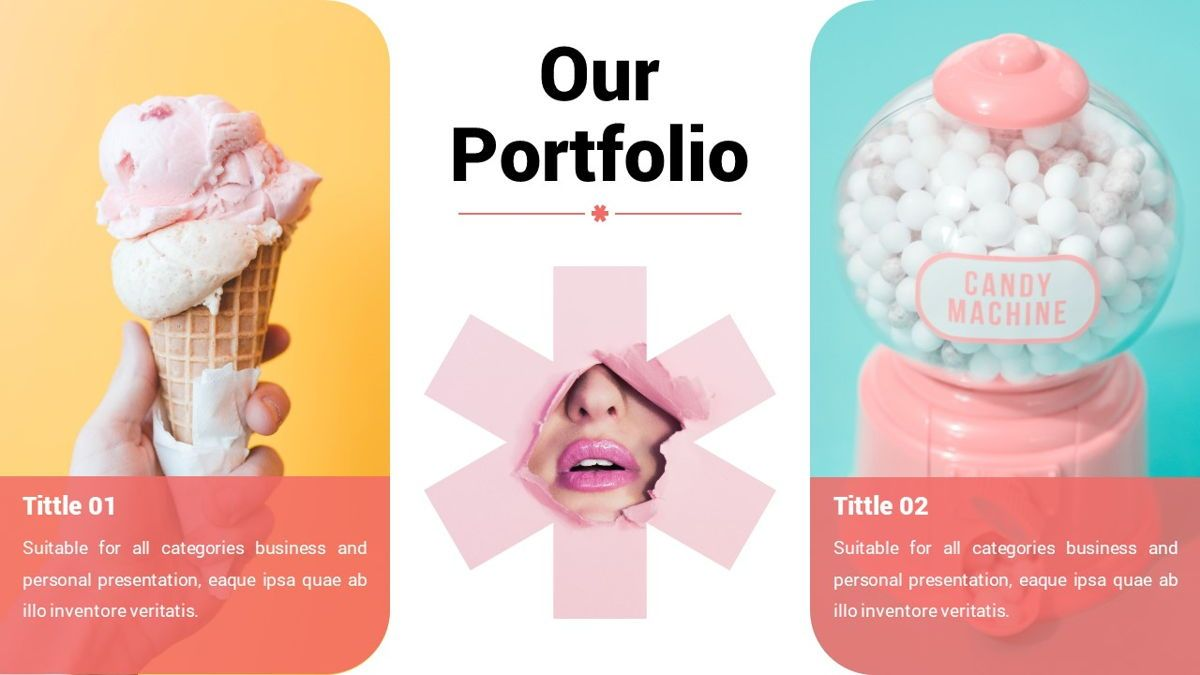 Popsicle - Colorful Powerpoint Template, Slide 12, 06433, Data Driven Diagrams and Charts — PoweredTemplate.com