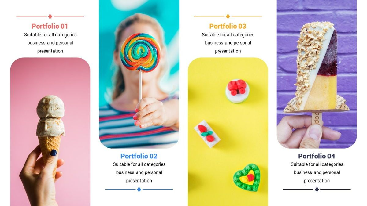 Popsicle - Colorful Powerpoint Template, Slide 13, 06433, Data Driven Diagrams and Charts — PoweredTemplate.com