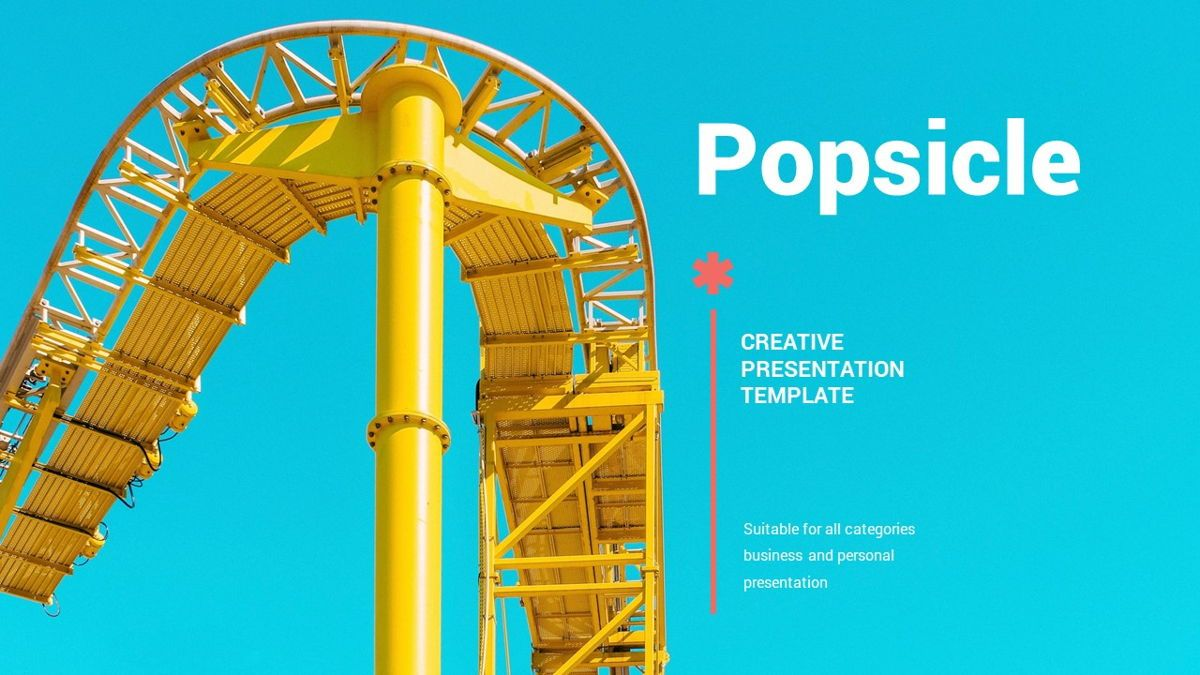 Popsicle - Colorful Powerpoint Template, Slide 2, 06433, Data Driven Diagrams and Charts — PoweredTemplate.com
