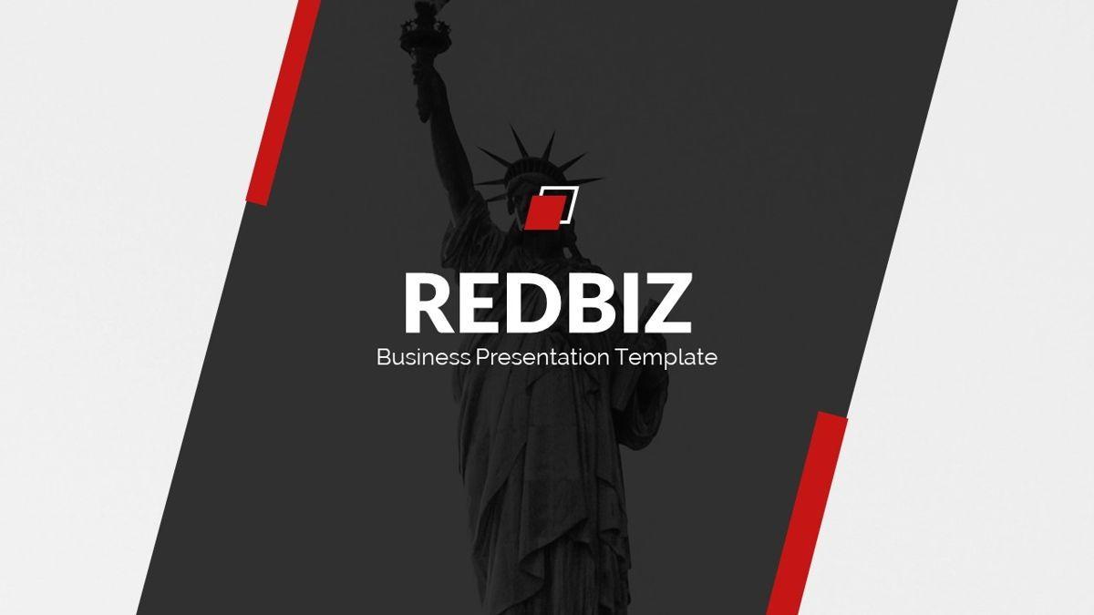 Redbiz - Biz Powerpoint Presentation Template, Slide 2, 06435, Data Driven Diagrams and Charts — PoweredTemplate.com