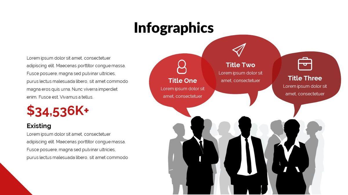 Redbiz - Biz Powerpoint Presentation Template, Slide 25, 06435, Data Driven Diagrams and Charts — PoweredTemplate.com