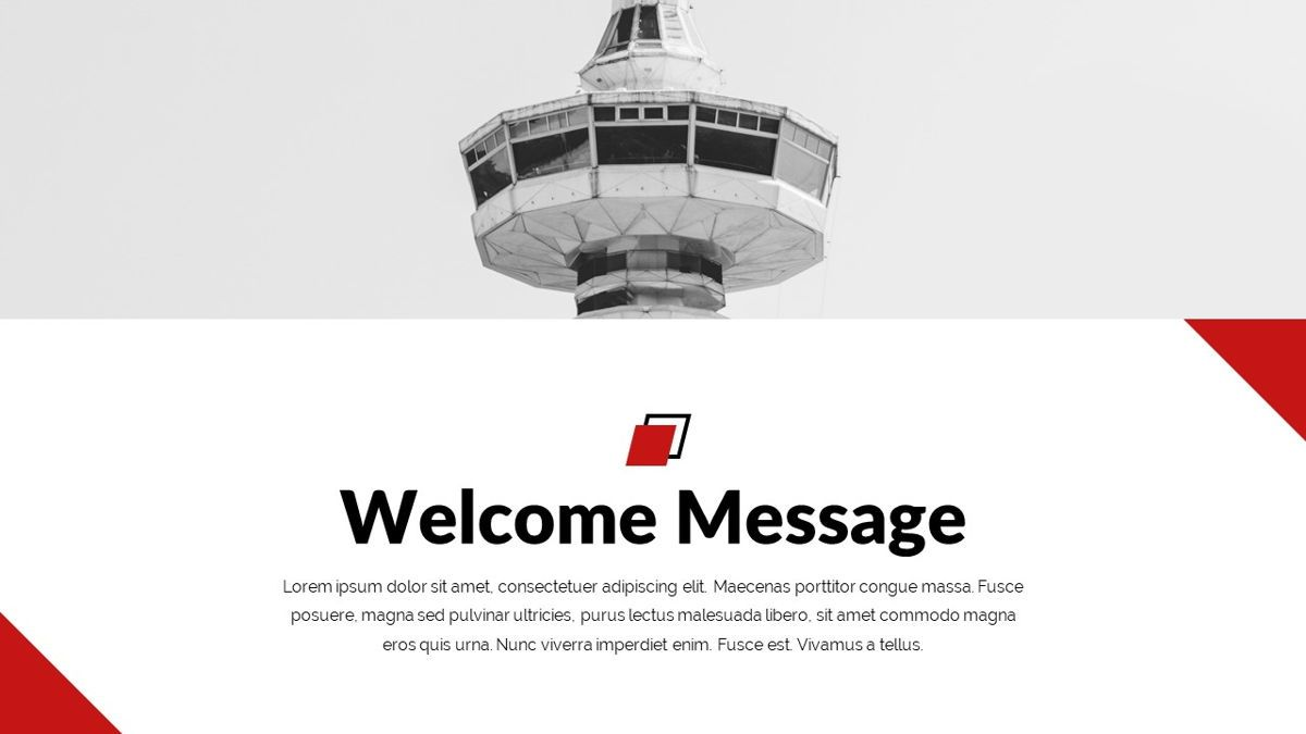 Redbiz - Biz Powerpoint Presentation Template, Slide 3, 06435, Data Driven Diagrams and Charts — PoweredTemplate.com