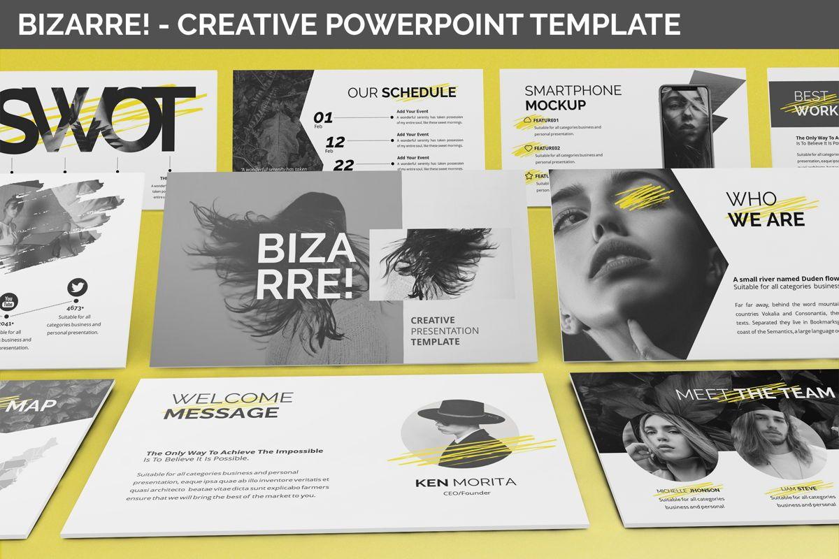Bizarre - Creative Powerpoint Template, 06437, Business Models — PoweredTemplate.com