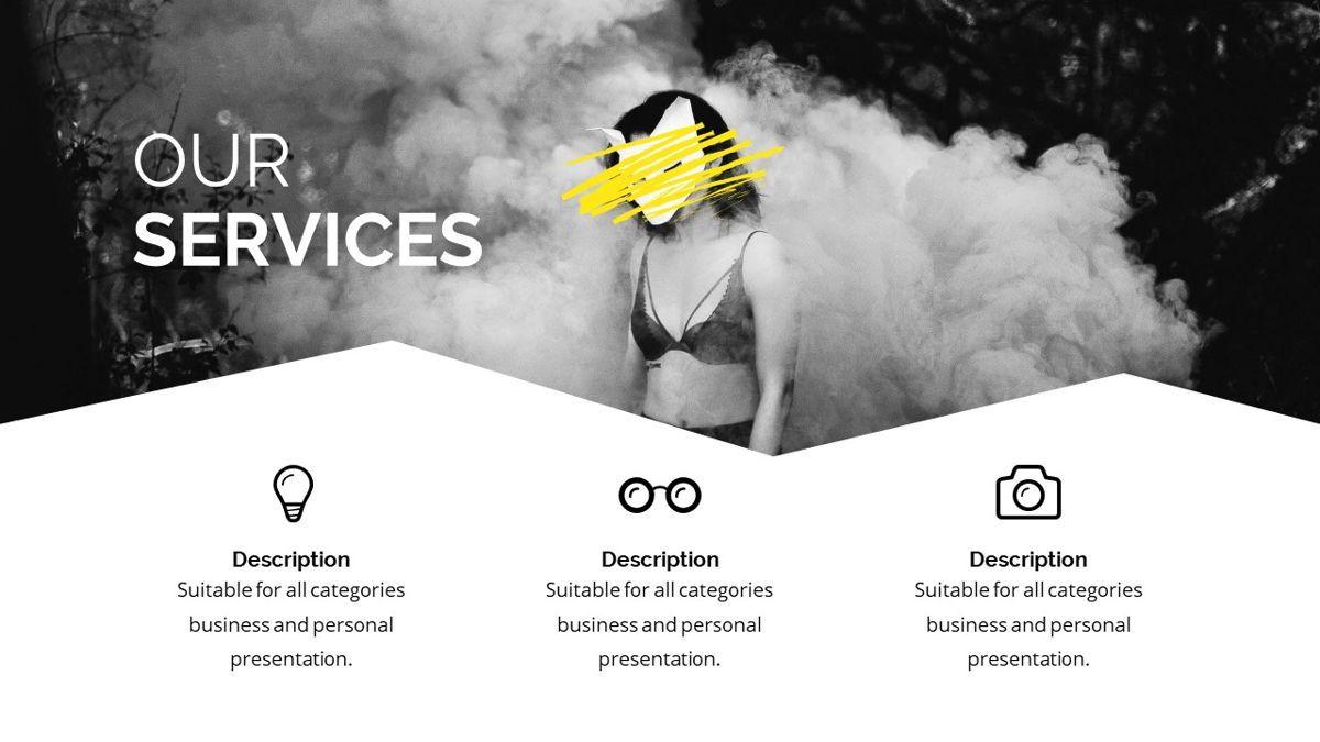 Bizarre - Creative Powerpoint Template, Slide 6, 06437, Business Models — PoweredTemplate.com