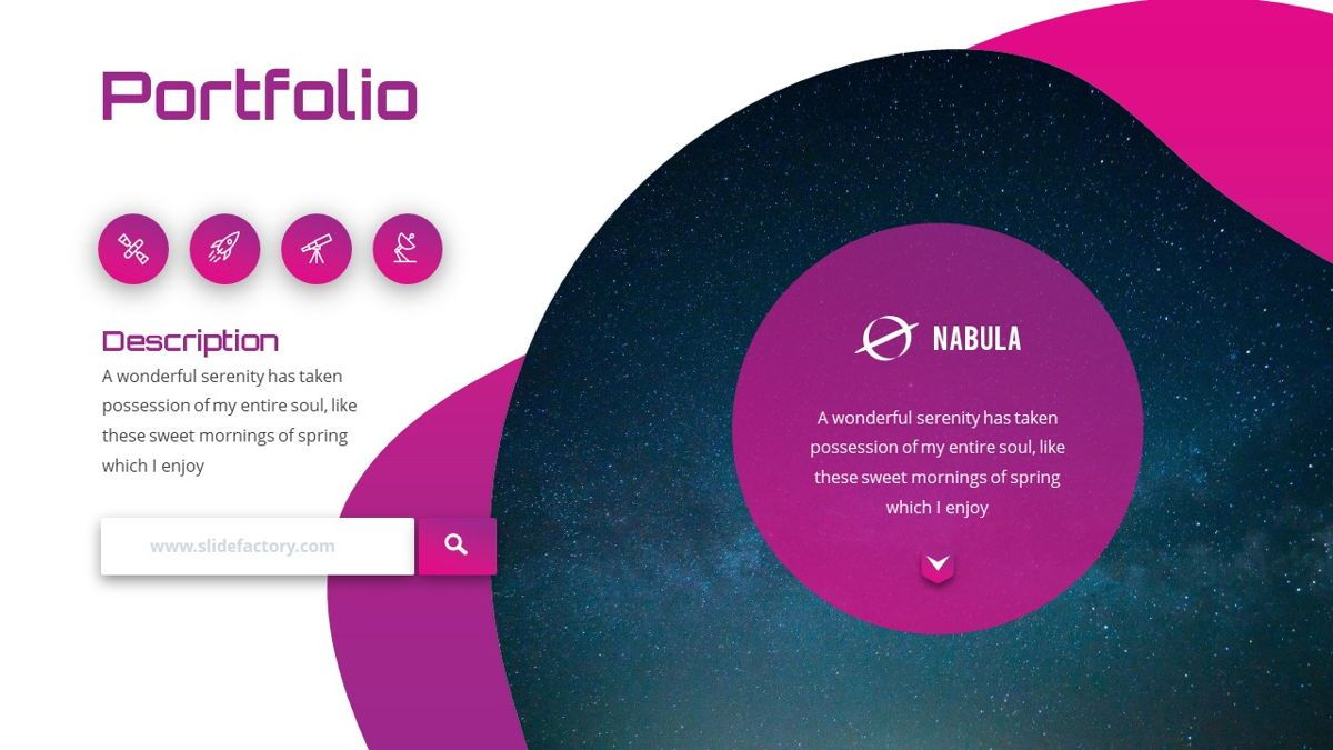 Nabula - Scientific Powerpoint Template, Slide 13, 06438, Data Driven Diagrams and Charts — PoweredTemplate.com