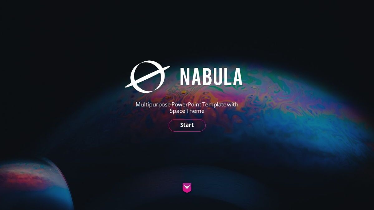 Nabula - Scientific Powerpoint Template, Slide 2, 06438, Data Driven Diagrams and Charts — PoweredTemplate.com