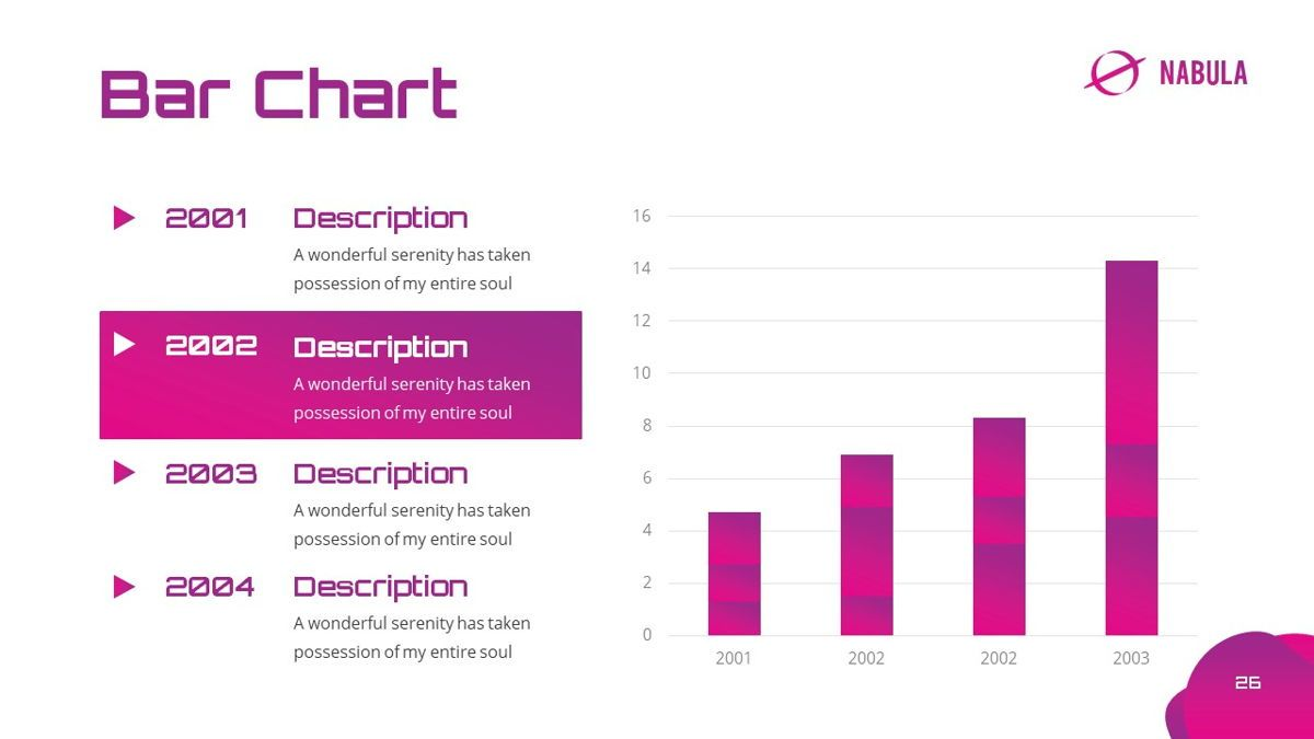 Nabula - Scientific Powerpoint Template, Slide 27, 06438, Data Driven Diagrams and Charts — PoweredTemplate.com
