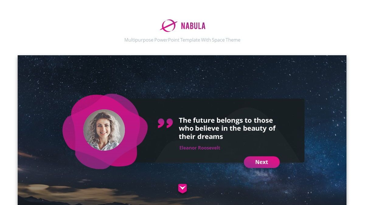 Nabula - Scientific Powerpoint Template, Slide 3, 06438, Data Driven Diagrams and Charts — PoweredTemplate.com