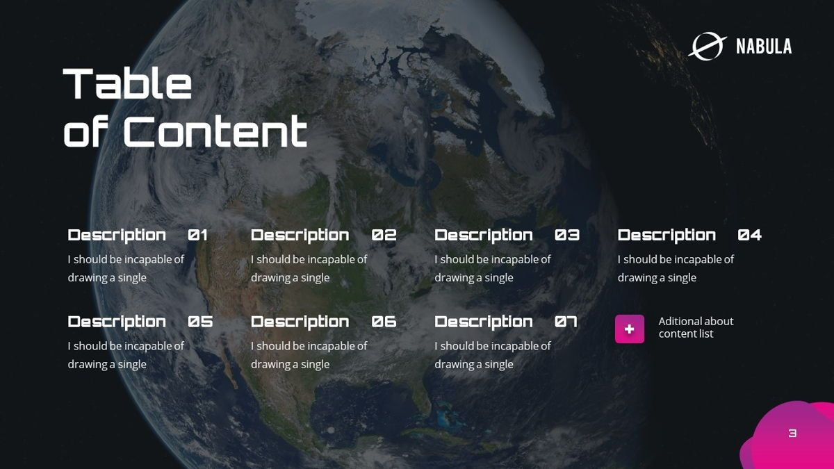 Nabula - Scientific Powerpoint Template, Slide 4, 06438, Data Driven Diagrams and Charts — PoweredTemplate.com