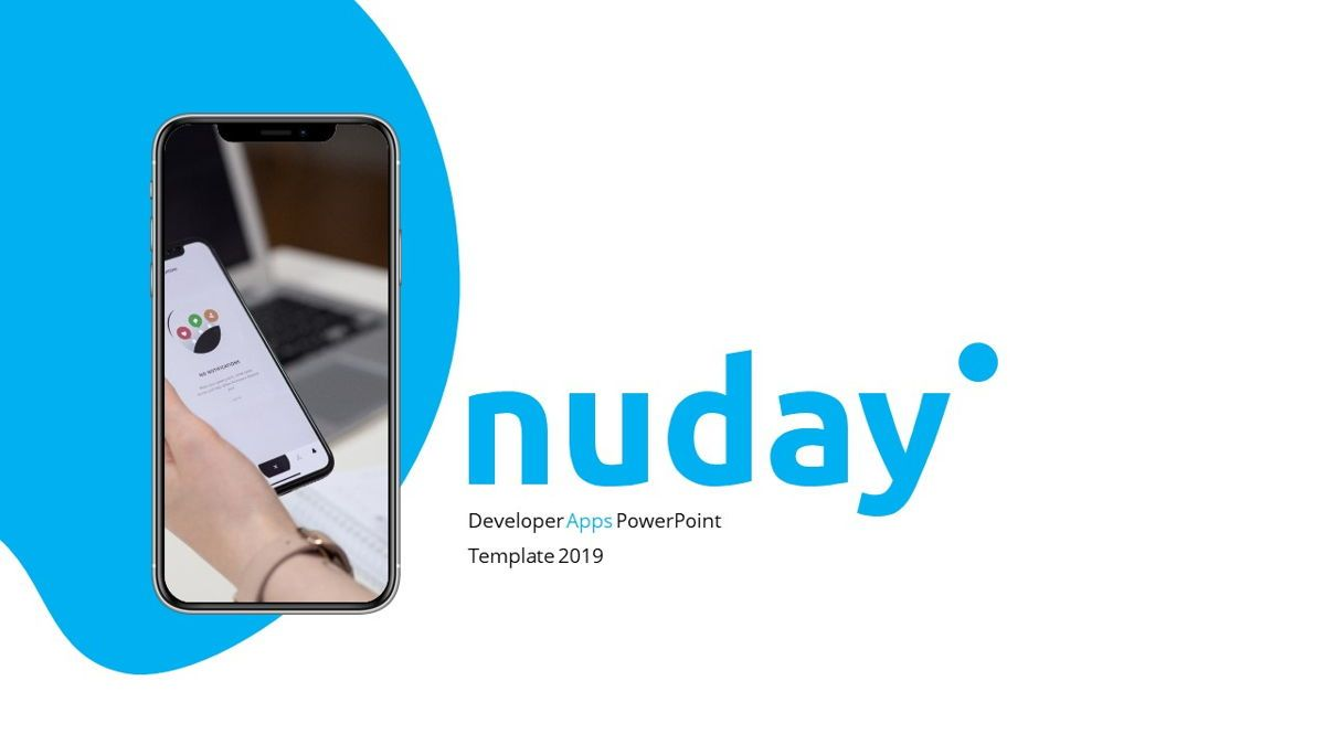 Nuday - Developer Powerpoint Template, Slide 2, 06439, Data Driven Diagrams and Charts — PoweredTemplate.com