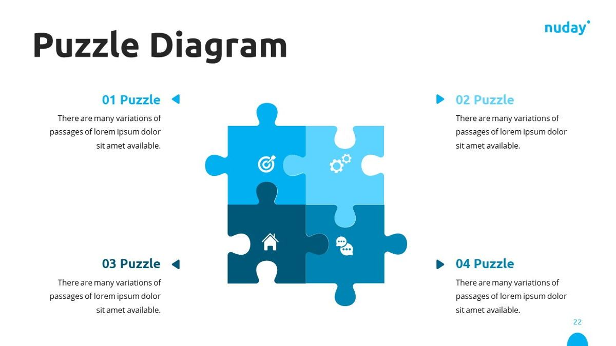 Nuday - Developer Powerpoint Template, Slide 23, 06439, Data Driven Diagrams and Charts — PoweredTemplate.com