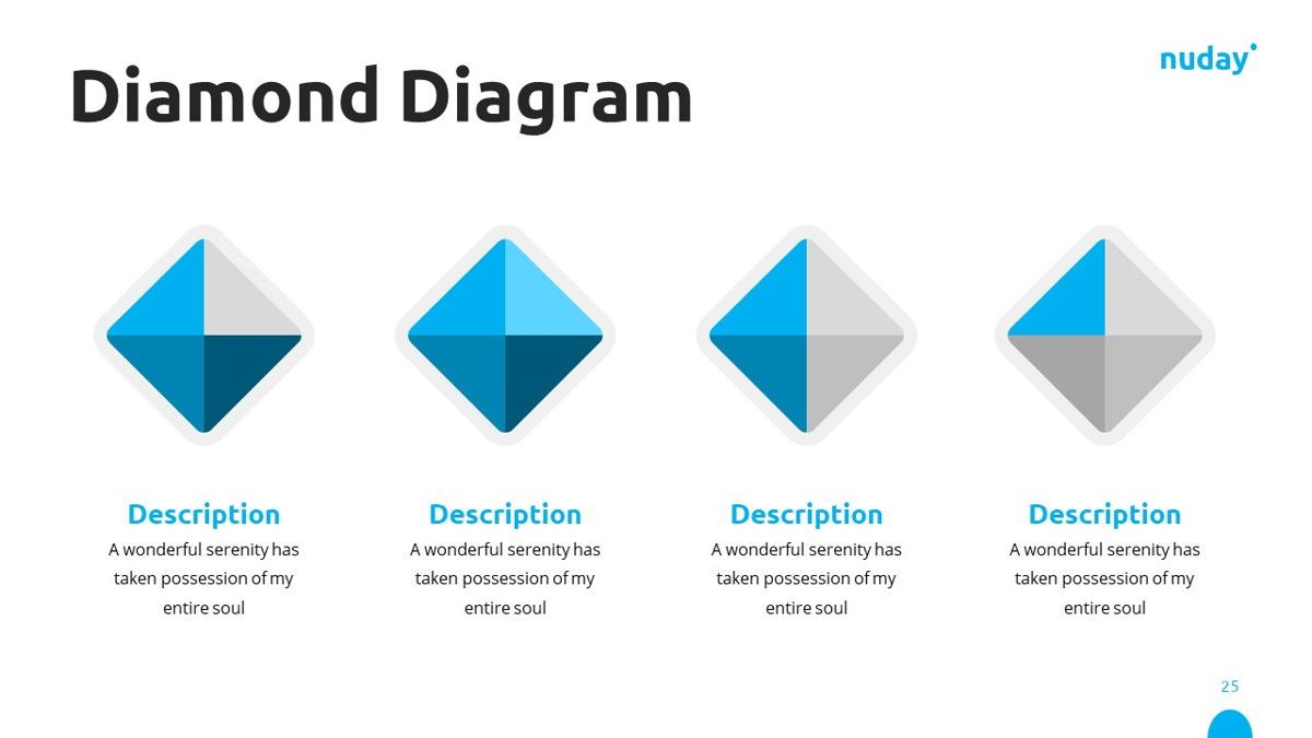 Nuday - Developer Powerpoint Template, Slide 26, 06439, Data Driven Diagrams and Charts — PoweredTemplate.com