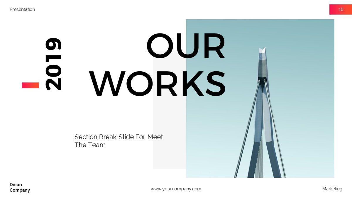 Deion - Simplicity Powerpoint Template, Slide 17, 06440, Business Models — PoweredTemplate.com