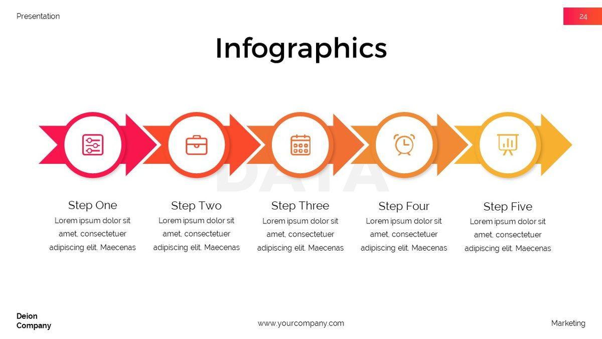 Deion - Simplicity Powerpoint Template, Slide 25, 06440, Business Models — PoweredTemplate.com