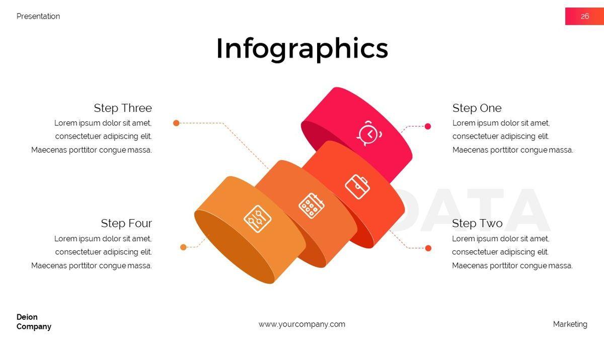 Deion - Simplicity Powerpoint Template, Slide 27, 06440, Business Models — PoweredTemplate.com