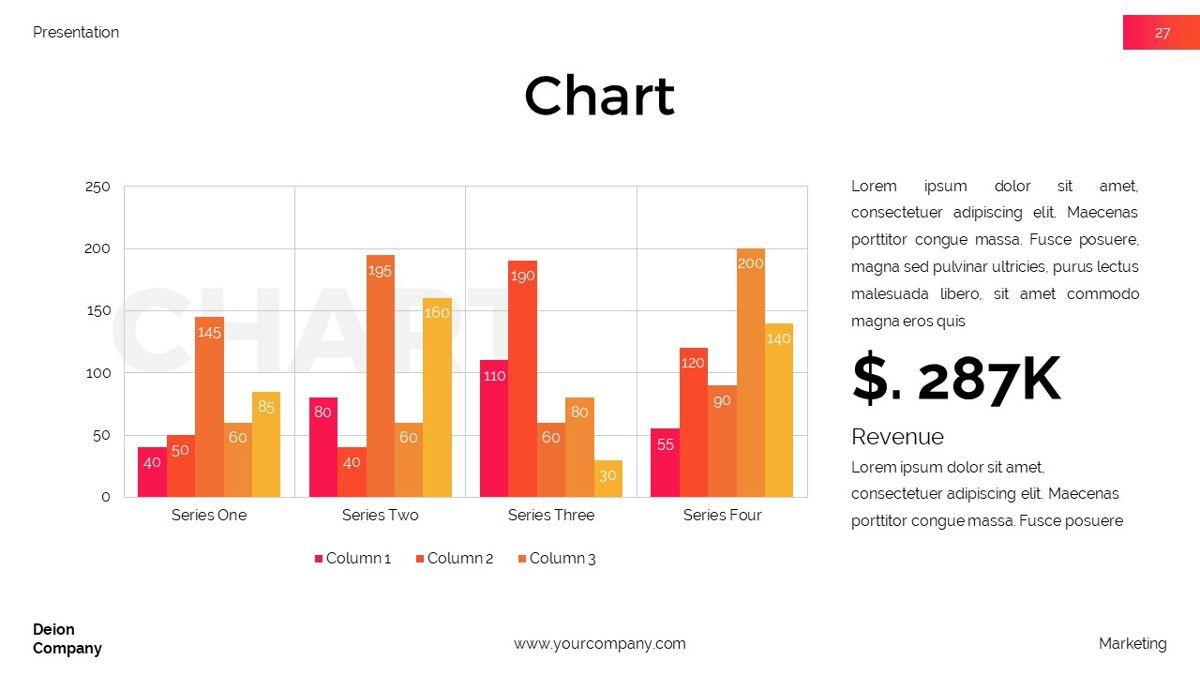 Deion - Simplicity Powerpoint Template, Slide 28, 06440, Business Models — PoweredTemplate.com