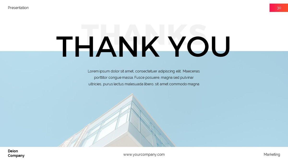 Deion - Simplicity Powerpoint Template, Slide 31, 06440, Business Models — PoweredTemplate.com