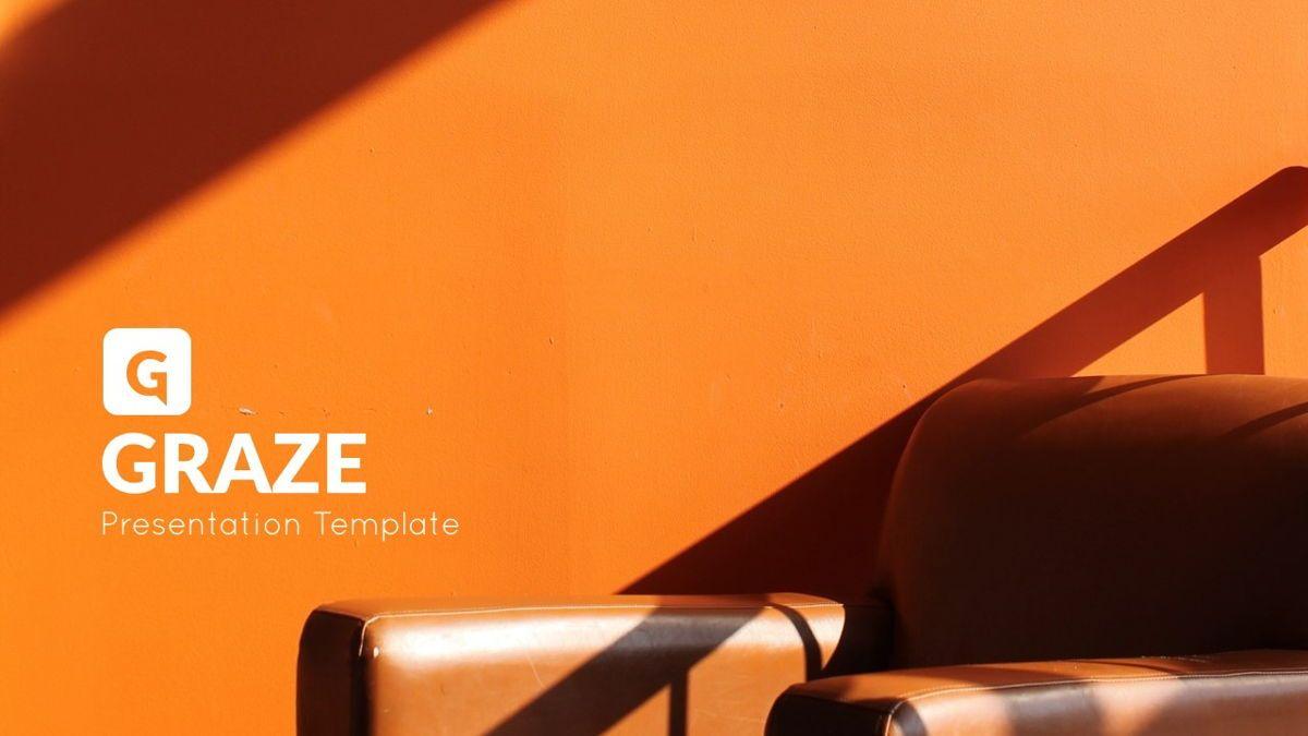 Graze - Powerpoint Presentation Template, Slide 2, 06441, Business Models — PoweredTemplate.com