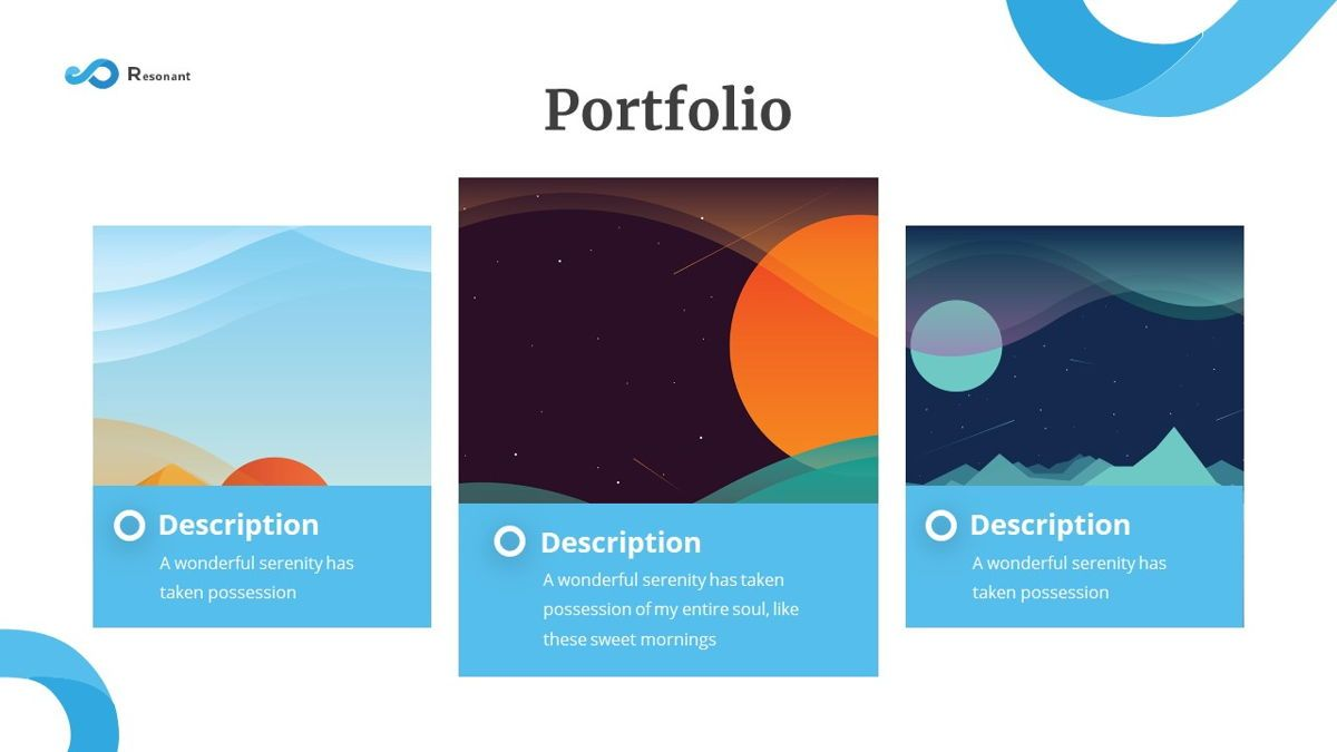 Resonant - Abstract Powerpoint Template, Slide 18, 06442, Data Driven Diagrams and Charts — PoweredTemplate.com