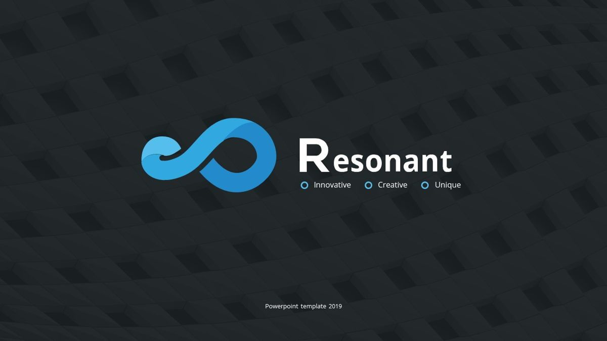 Resonant - Abstract Powerpoint Template, Slide 2, 06442, Data Driven Diagrams and Charts — PoweredTemplate.com